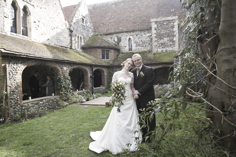 Bride and Groom at a National Trust property in Essex