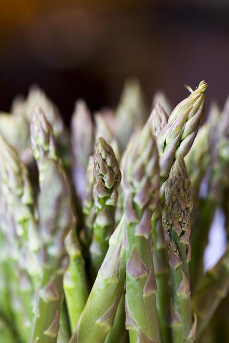 fresh produce asparagus kitchen food preparation photographer