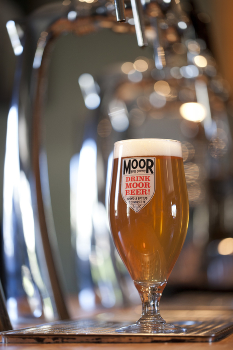 Moor beer glass