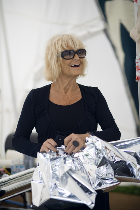 photo of iconic fashion queen Barbara Hulaniki