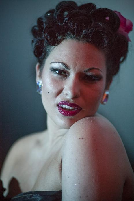 burlesque portrait of immodesty blaize backstage festival