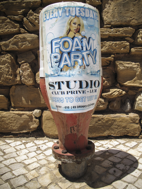 foam party poster photo Portugal