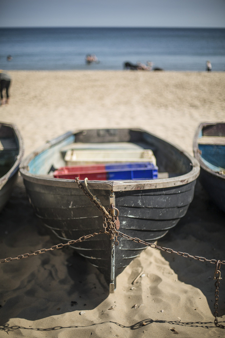 boats sitting on beach photograph tourism dorset