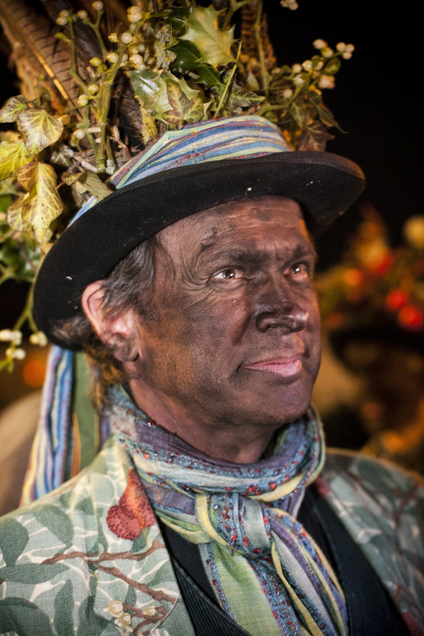 morris dancer blackened face