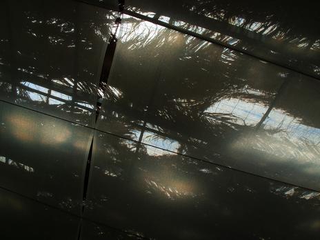 sunlight photo through the roof