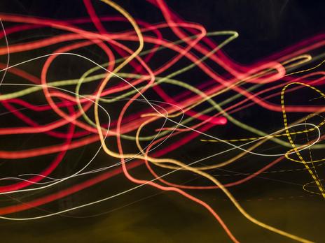 photo of blurry lights