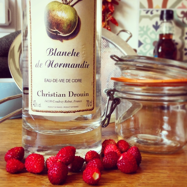 eau de vie and wild strawberrys