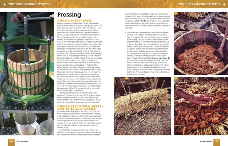 Cider Manual book preview - Pressing