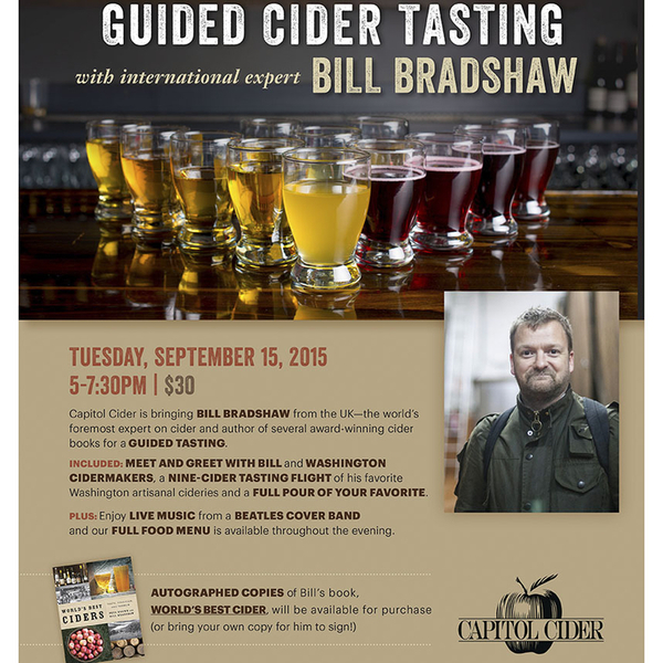 cider event poster Seattle