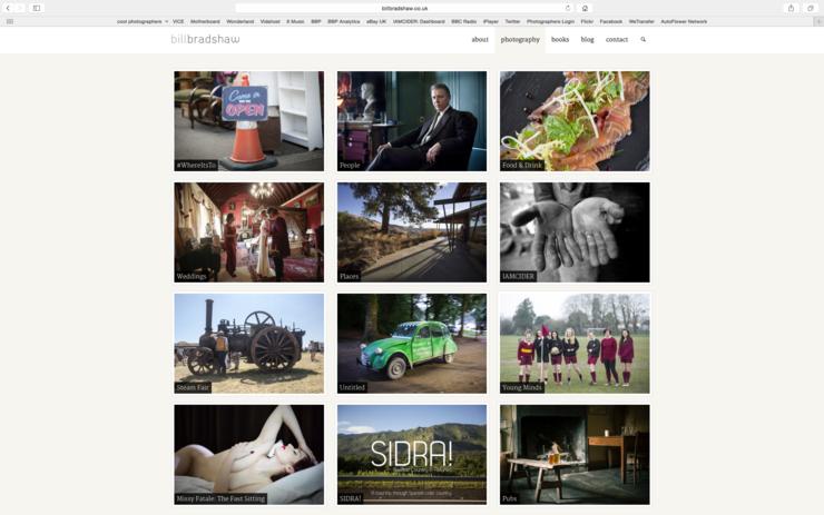 website photographer somerset screen shot