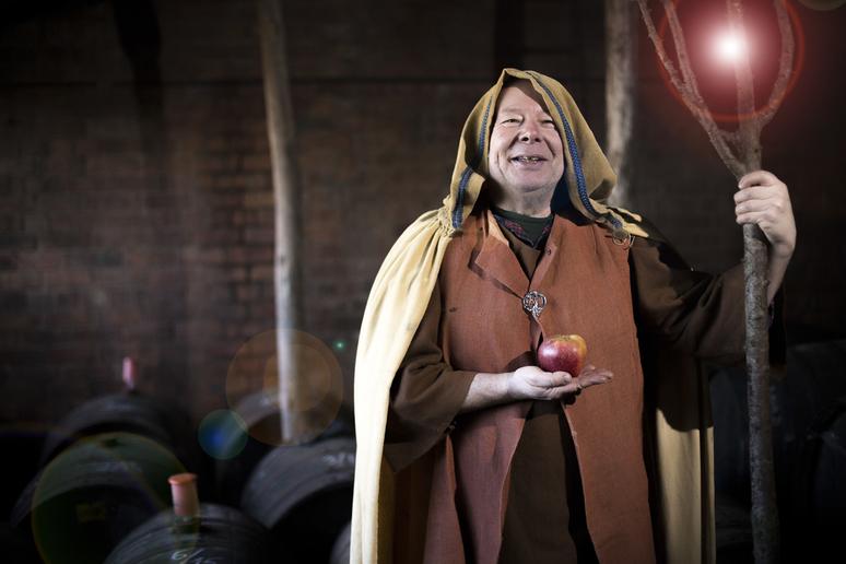 cider wizard portrait