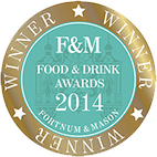 Winner: Fortnum & Mason Food & Drink Awards 2014