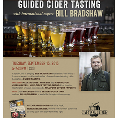cider event poster Seattle