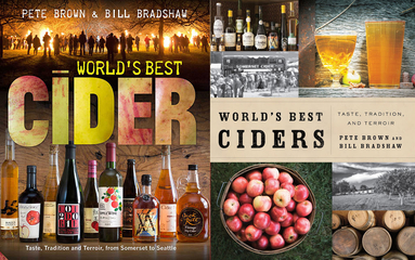 UK & USA covers for Worlds Best Cider
