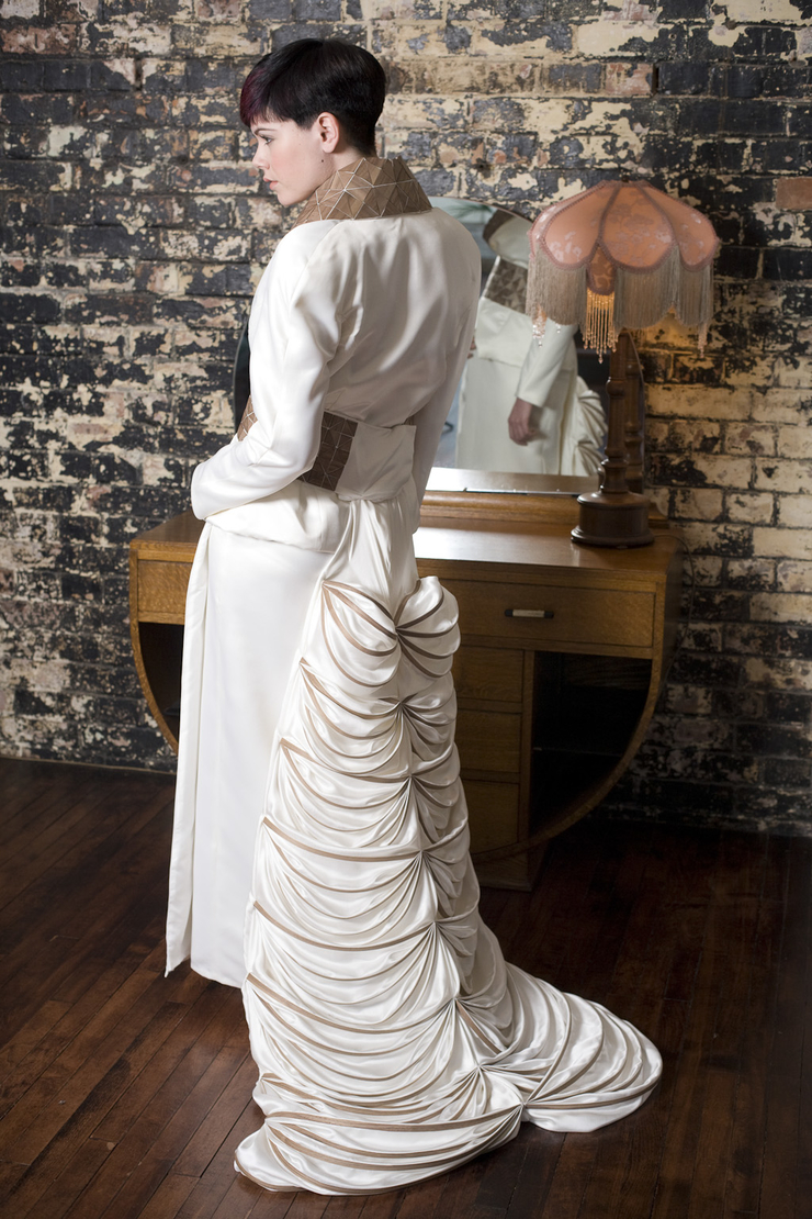 Japan in Somerset - inspired wedding fashion | Bill Bradshaw ...